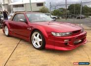 1989 Nissan Silvia S13 1.8T Candy Apple Red Pearl Manual 5sp M Coupe for Sale