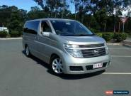 2002 Nissan Elgrand E51 VG Gold Automatic 5sp A Wagon for Sale