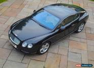 2006 BENTLEY CONTINENTAL GT  2 Owners  for Sale