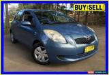 Classic 2007 Toyota Yaris NCP90R YR Blue Automatic 4sp A Hatchback for Sale