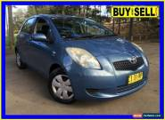 2007 Toyota Yaris NCP90R YR Blue Automatic 4sp A Hatchback for Sale