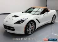 2014 Chevrolet Corvette NAVIGATION CONVERTIBLE for Sale