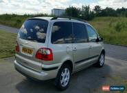 Ford galaxy TDI, ghia 6 speed manual people carrier 7 seats Tested mot driveaway for Sale