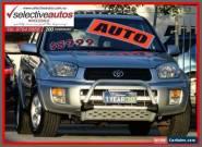 2002 Toyota RAV4 ACA21R Cruiser (4x4) Silver Automatic 4sp A Wagon for Sale