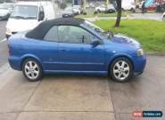 HOLDEN ASTRA 2002 CONVERTIBLE for Sale