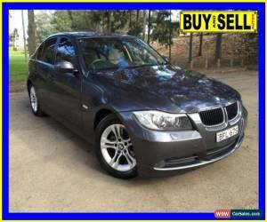 Classic 2008 BMW 320i E90 07 Upgrade Executive Silver Automatic 6sp A Sedan for Sale