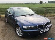 2004 BMW 318i SE MYSTIC BLUE METALLIC E46 for Sale