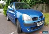 Classic Renault clio 1.4 16v 2004 dynamique for Sale