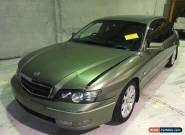 HOLDEN WK CAPRICE V8 LS1 AUTO DAMAGED STATUTORY WRITE OFF COMMODORE SS for Sale