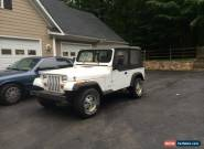 1993 Jeep Wrangler for Sale