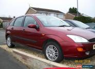 ford focus 1.8 ghia with new MOT for Sale