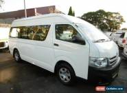 2011 Toyota Hiace TRH223R MY11 Upgrade Commuter White Automatic 4sp A Bus for Sale