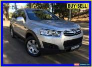 2013 Holden Captiva CG MY13 7 SX (FWD) Silver Automatic 6sp A Wagon for Sale