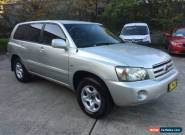 2005 Toyota Kluger MCU28R CV Silver Automatic 5sp A Wagon for Sale