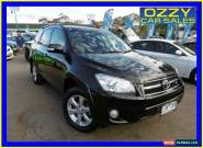 2012 Toyota RAV4 GSA33R 08 Upgrade SX6 Ebony Automatic 5sp A Wagon for Sale