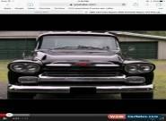 1959 Chevrolet Other Pickups Bk for Sale