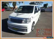 2000 Nissan Elgrand E50 White Automatic 4sp A Wagon for Sale