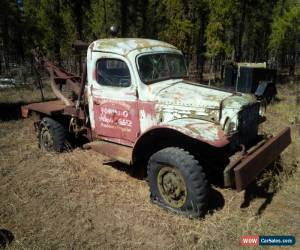 1940s dodge power wagon for sale