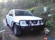 nissan navara d40 4wd duel cab diesel turbo for Sale