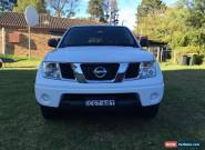 Nissan Navara RX 2012 (2x4) Diesel dualcab with canopy for Sale