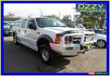 Classic 2002 Ford F250 RM XLT (4x4) White Automatic 4sp A Super Cab Pick-up for Sale