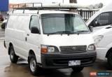 Classic 2004 Toyota Hiace Manual 5sp M Van for Sale
