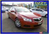 Classic 2011 Holden Cruze JH CD Red Manual 5sp M Sedan for Sale