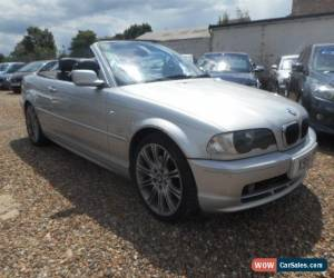 Classic 2001 BMW 320CI AUTO CONVERTIBLE SILVER **NO RESERVE** for Sale