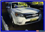 2011 Ford Ranger PK XLT (4x4) White Automatic 5sp A Dual Cab Pick-up for Sale