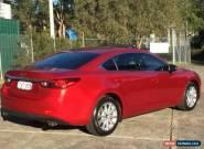 2014 Mazda 6 GJ1031 MY14 Touring Burgundy Automatic A Sedan for Sale
