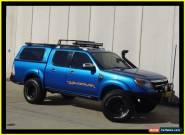 2011 Ford Ranger PK Wildtrak (4x4) Blue Manual 5sp M Dual Cab Pick-up for Sale