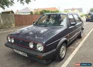 1989 VW GOLF 1.8 GTI MK2, 5-DR, MOT 25th SEPT 16, DRIVES GREAT & VERY ORIGINAL! for Sale