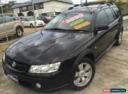 2005 Holden Adventra VZ SX6 Black Devil Automatic 5sp A Wagon for Sale