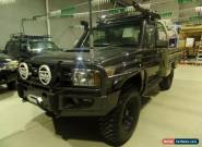 2011 Toyota Landcruiser VDJ79R GX UPGRADE Manual 5sp M Cab Chassis for Sale