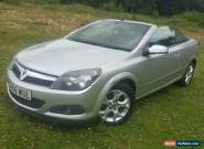 2007 VAUXHALL ASTRA TWIN TOP SPORT SILVER for Sale