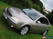 2002 FORD MONDEO 2.0 GHIA-X (16v duratec HE) for Sale