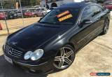 Classic 2004 Mercedes-Benz CLK55 C209 AMG Obsidian Black Automatic 5sp A Coupe for Sale