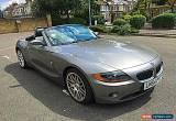 Classic 2004 BMW Z4 2.2I SE AUTO GREY for Sale