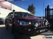 2012 Holden Colorado RG LTZ (4x4) Maroon Manual 5sp M Crewcab for Sale