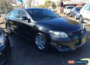 2007 Toyota Aurion GSV40R Sportivo SX6 Black Automatic 6sp A Sedan for Sale