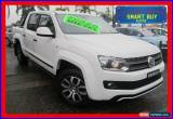 Classic 2014 Volkswagen Amarok 2H MY14 TDI420 Canyon (4x4) White Automatic 8sp A for Sale