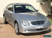 2004 Mercedes-Benz CLK320 C209 MY05 Elegance Silver Automatic 5sp A Coupe for Sale