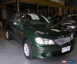 Classic 2001 Nissan Pulsar N16 ST Green Automatic 4sp A Sedan for Sale