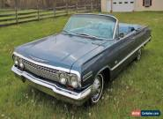 1963 Chevrolet Impala Convertible 2 Door for Sale