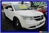 Classic 2011 Dodge Journey JC MY10 R/T White Automatic 6sp A Wagon for Sale