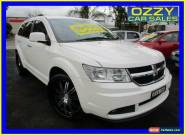 2011 Dodge Journey JC MY10 R/T White Automatic 6sp A Wagon for Sale