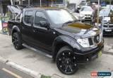Classic 2011 Nissan Navara D40 ST (4x4) Black Manual 6sp M Dual Cab Pick-up for Sale