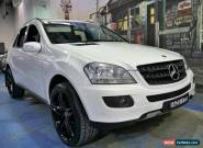2006 Mercedes-Benz ML280 CDI W164 White Automatic 7sp A Wagon for Sale