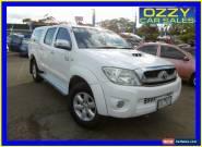 2010 Toyota Hilux KUN26R 09 Upgrade SR5 (4x4) Glacier White Automatic 4sp A for Sale