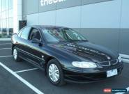 2000 Holden Commodore Vtii Acclaim Black Automatic 4sp A Sedan for Sale